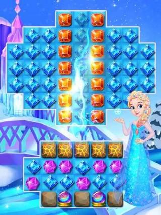 冰雪女王宝石闪击游戏安卓版截图(3)