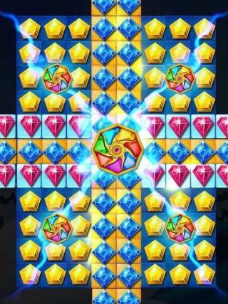 冰雪女王宝石闪击游戏安卓版截图(2)