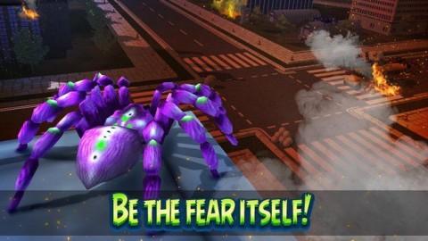 巨型蜘蛛城市攻击模拟3D无限金币破解版下载