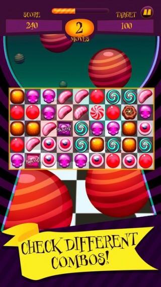 比赛3糖果炸弹炸弹内购破解版截图(1)