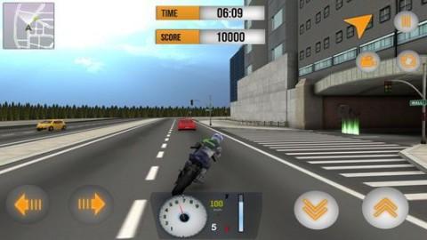 街道摩托车车手3D内购破解版截图(1)