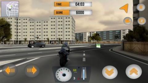 街道摩托车车手3D内购破解版截图(2)