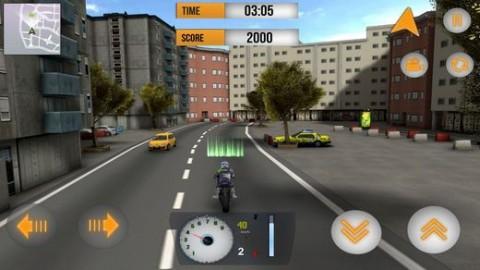 街道摩托车车手3D内购破解版截图(4)