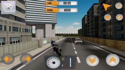 街道摩托车车手3D内购破解版截图(3)