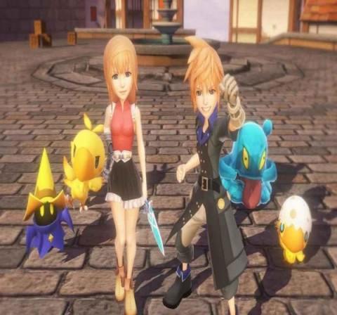 最终幻想世界截图(1)