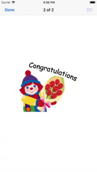Congratulations截图(1)