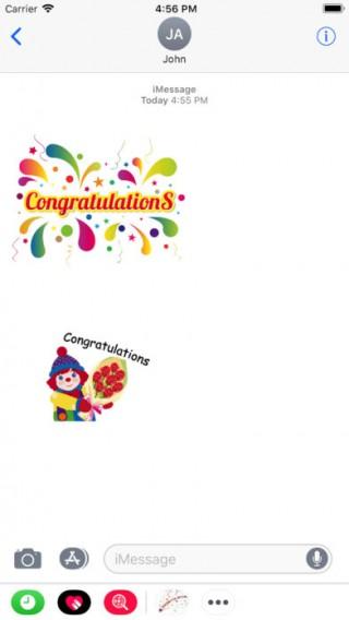 Congratulations截图(3)