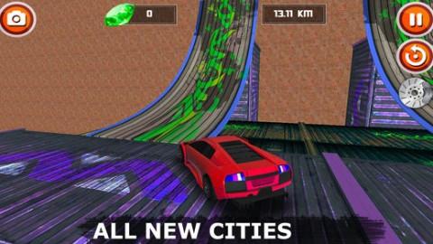 Car Stunt and Racing 3D 2018截图(2)