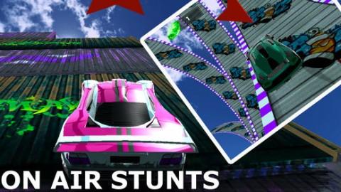 Car Stunt and Racing 3D 2018截图(3)