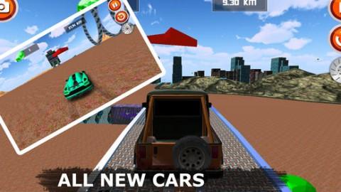 Car Stunt and Racing 3D 2018截图(4)