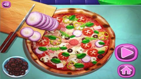 披萨料理游戏截图(1)