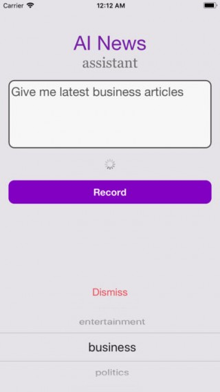 AINA: AI News Assistant截图(3)