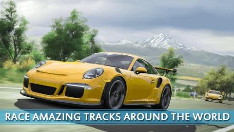 追逐高速赛车的街道截图(2)