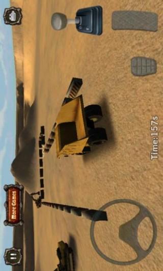 模拟采矿车停车截图(2)