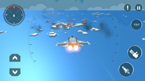 War Planes Craft Ships Attack截图(4)