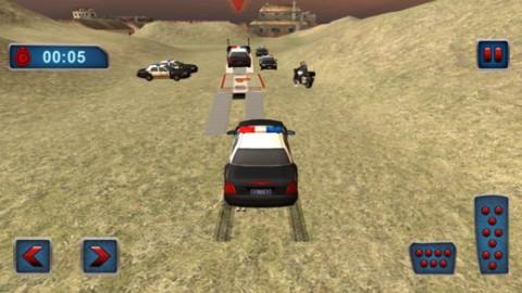 越野警察卡车运输截图(5)