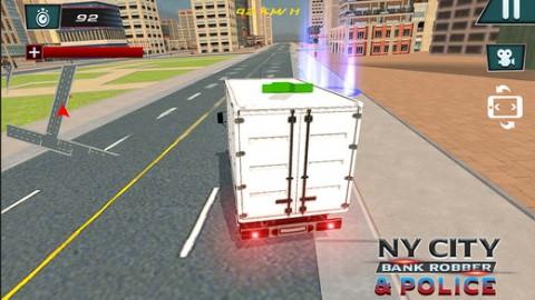 纽约城市银行劫匪与警察截图(1)