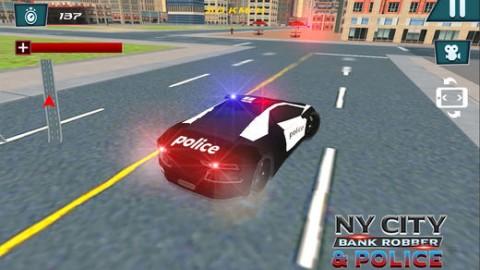 纽约城市银行劫匪与警察截图(3)