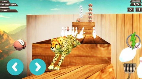 动物跳跃特技司机截图(2)