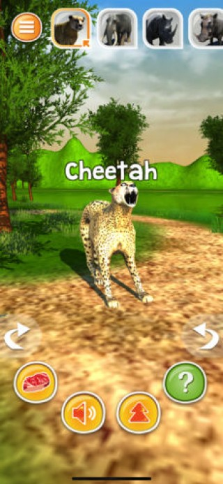 Animal Simulator 3D - Cheetah截图(1)
