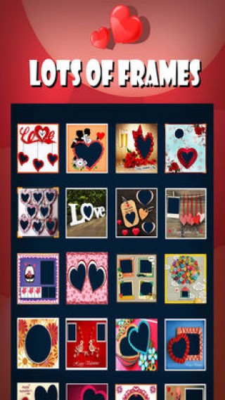 Love Frames-Valentine PhotoLab截图(2)