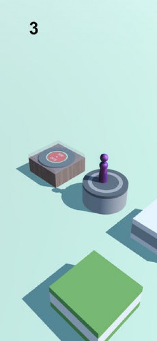 跳一跳小游戏休闲单机手游截图(2)