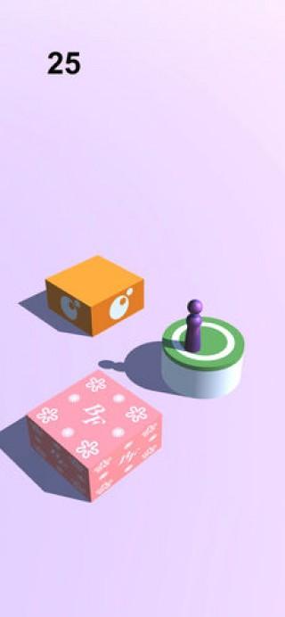 跳一跳小游戏休闲单机手游截图(3)