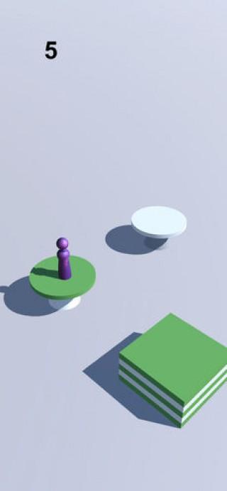 跳一跳小游戏休闲单机手游截图(5)