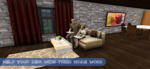 虚拟家庭:爸爸梦想家园截图(1)