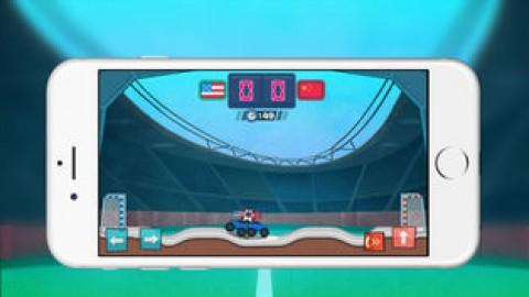 口袋疯狂足球-卡车足球截图(4)