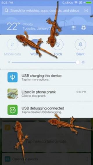 蜥蜴在手机恶作剧安卓版截图(1)