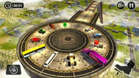 巨型斜坡变换赛车3D截图(4)