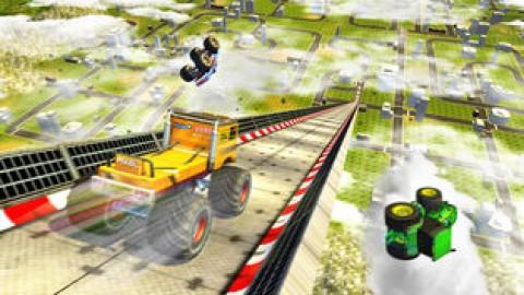巨型斜坡变换赛车3D截图(5)