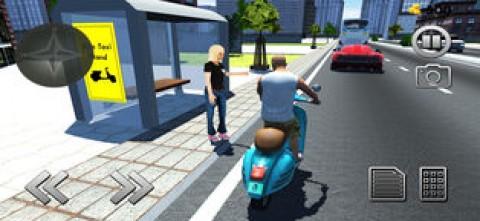 自行车出租车司机3D截图(2)