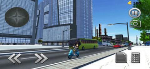 自行车出租车司机3D截图(3)