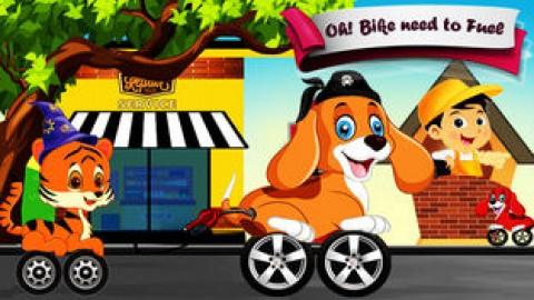 动物玩具赛车游戏截图(6)