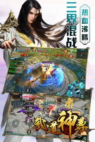 武道神尊手游正版公测版截图(4)