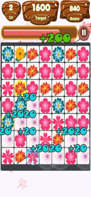Flowers Link Land截图(2)