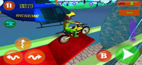 Tricky Bike Rivals Racing 3d截图(1)