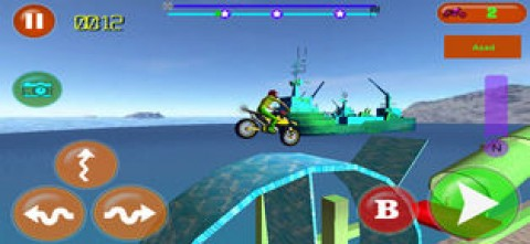 Tricky Bike Rivals Racing 3d截图(3)
