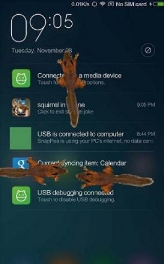 松鼠屏幕恶作剧截图(3)