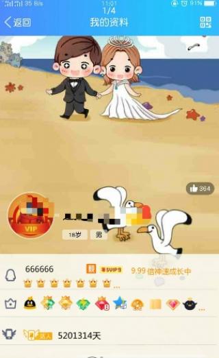 QQ七钻资料卡截图(4)