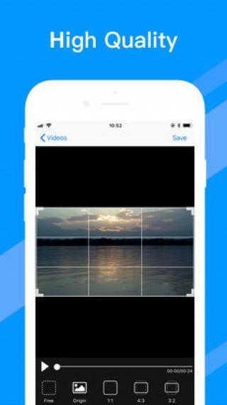 小视频裁剪 - 画面尺寸调整截图(4)