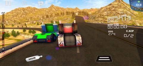 重型卡车赛车挑战3D截图(5)