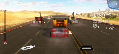 重型卡车赛车挑战3D截图(2)