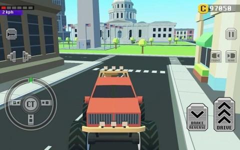 城镇疯狂赛车截图(3)