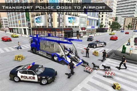 美国警察机器人狗警察飞机运截图(4)
