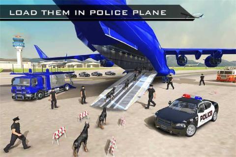 美国警察机器人狗警察飞机运截图(3)