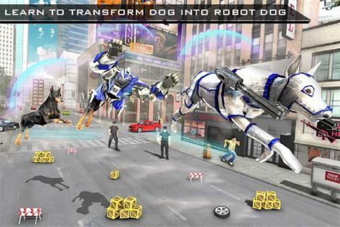 美国警察机器人狗警察飞机运截图(1)