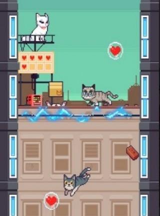 像素猫咪跳跃截图(2)